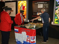Lethbridge RCMP Veterans View Liberation of Netherlands Display
